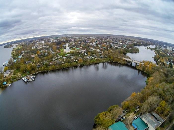 Речку Кимрку в черте города Кимры очистят от грязи, водорослей и мусора